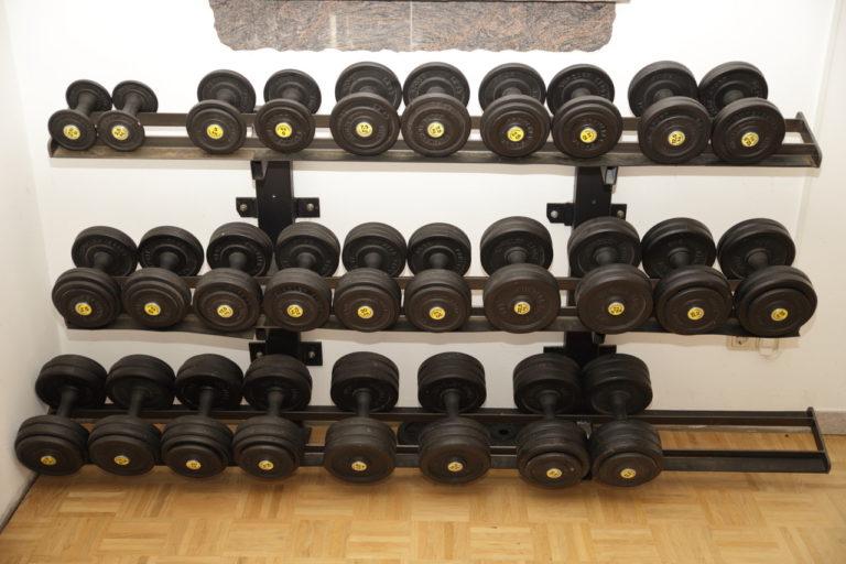 Bio Ferienhof Hagspiel Wellness Bereich Gewichte