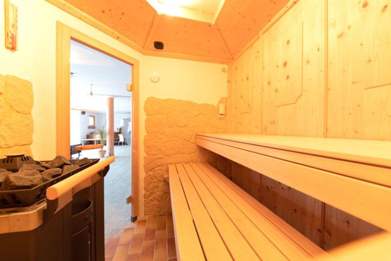 Bio Ferienhof Hagspiel Wellness Bereich Sauna