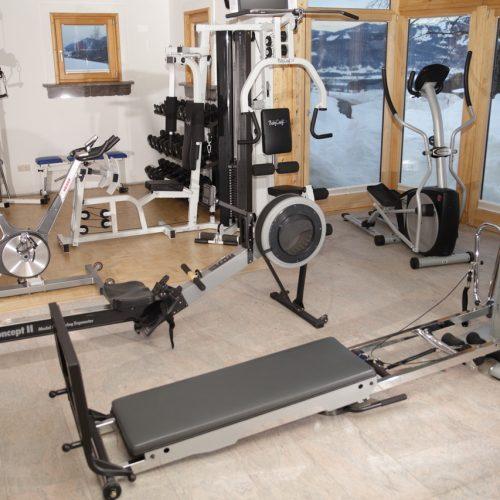 Bio Ferienhof Hagspiel Wellness Bereich Geräte