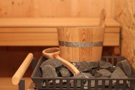 Bio Ferienhof Hagspiel sauna wassereimer